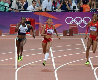 RELATED VIDEO -- Female Athletes Have Broken Records, Flexed Winning Muscles for 2012 Olympics