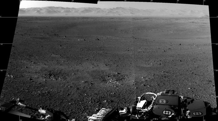 The First Shots of Mars