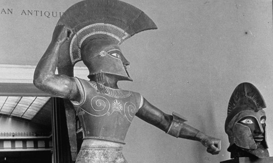 Etruscan warrior cropped; photo by Alfred Eisenstaedt/Time & Life Pictures/Getty Images