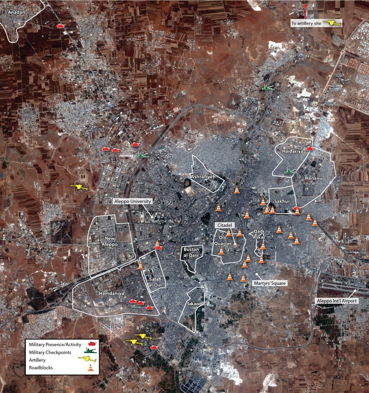 Aleppo Activity