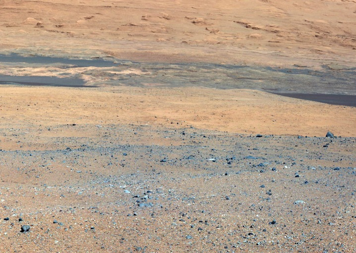 Gazing Toward Mount Sharp