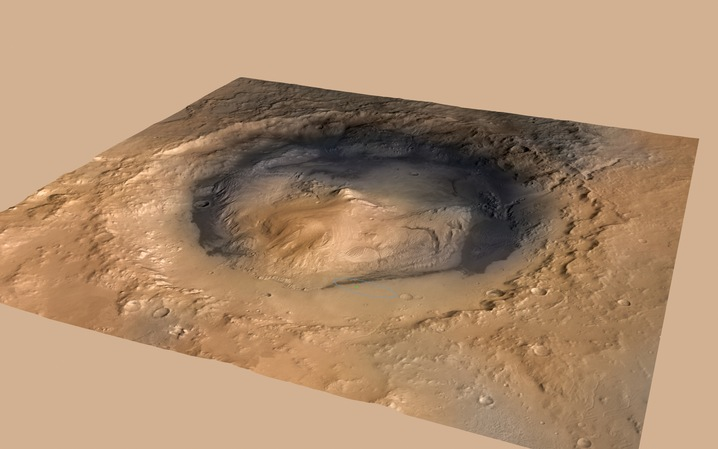 Mount Sharp Rising