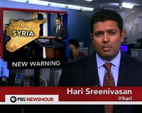 News Wrap: U.S. Prepared to Intervene Should Syrian Regime Use Chemical Weapons
