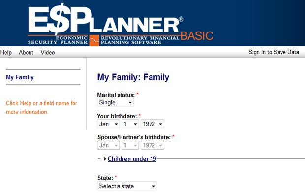 ESPlanner Basic