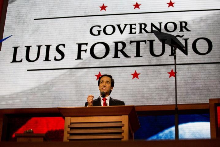 Puerto Rico Gov. Luis Fortuno