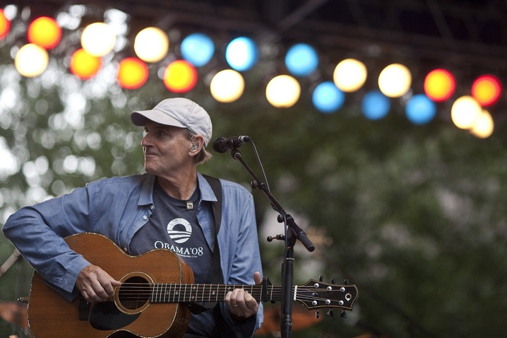 James Taylor at CarolinaFest