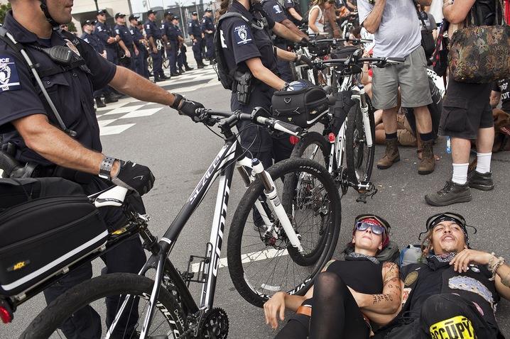 DNC Street Protest