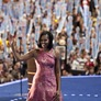Michelle Obama Light Ups Democratic Convention