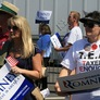 Romney's Virginia Rally Focuses On Economy, Turns Out Faithful