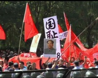 On Anniversary of Japanese Invasion, Chinese Protest Fueled by Land Disputes