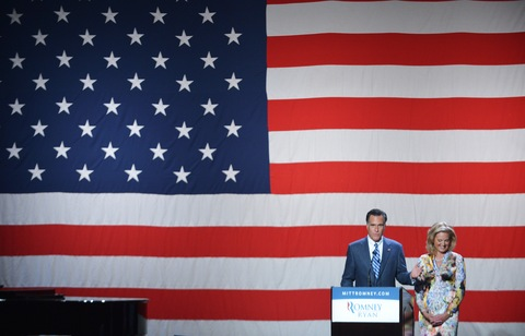 Mitt Romney; photo by Mandel Ngan/AFP/Getty Images