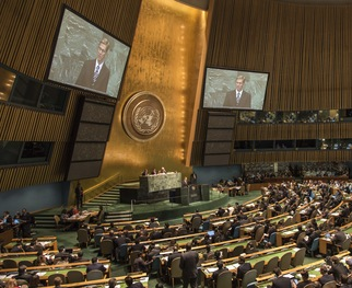 Watch Israeli Prime Minister Benjamin Netanyahu's address and other speeches at the U.N. General Assembly