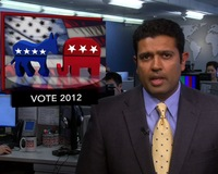 News Wrap: Obama Campaign Talks Economics, Romney Campaign Talks Education