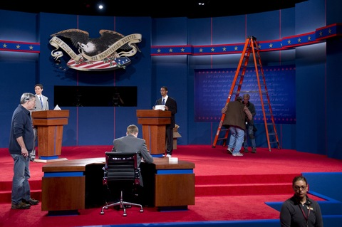 Presidential Debate in Denver; photo by Saul Loeb/AFP/Getty Images