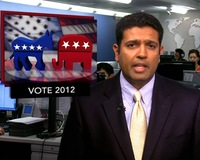 News Wrap: Polls Show President Obama Leads in Ohio, But Narrowly
