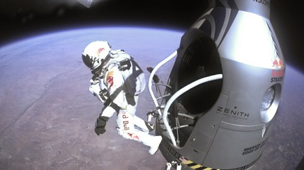 Physics of a Supersonic Stratospheric Skydive