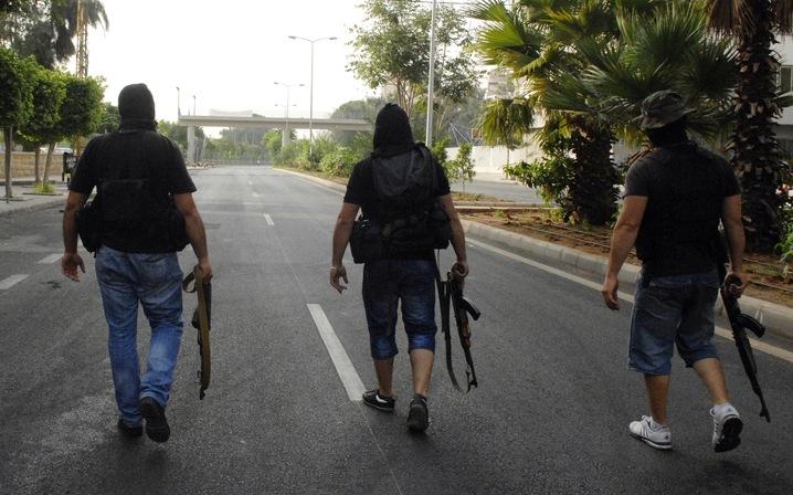Sunni Gunmen on Patrol