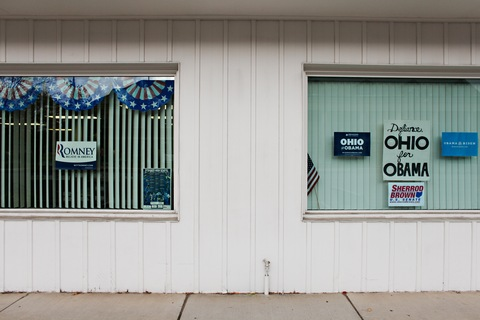 Presidential campaigns in Ohio; photo by Joel Prince for The Washington Post via Getty Images