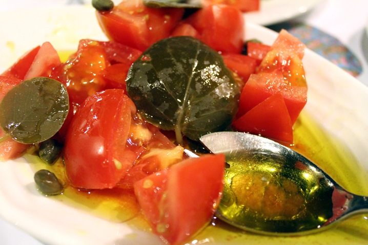 Capers and Tomatoes