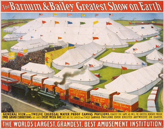 Barnum & Bailey Circus, 1899; U.S. Library of Congress
