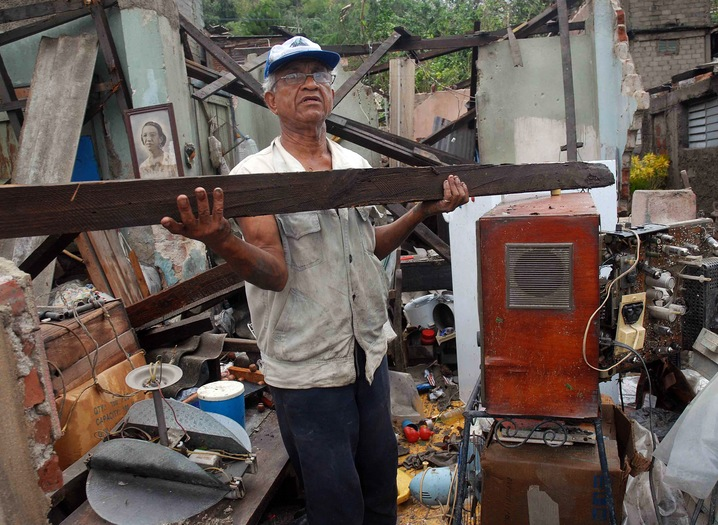 Destroying Homes in Cuba