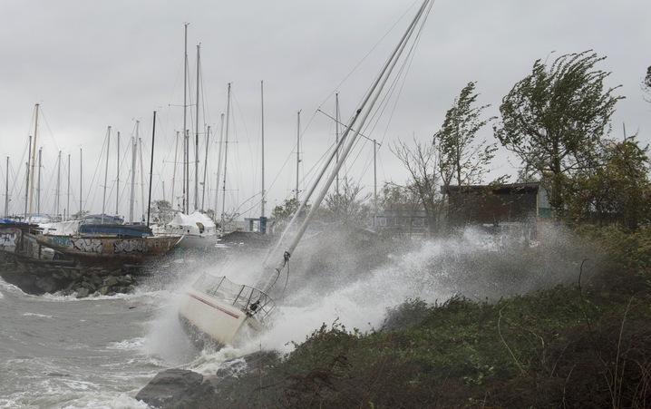 Sandy Brings Storm Surges