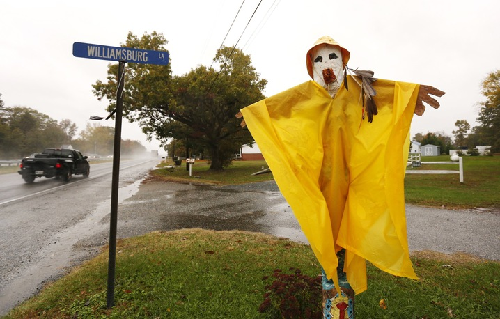 Wet Scarecrow