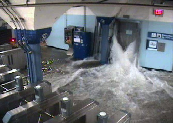 Flooding the Port Authority