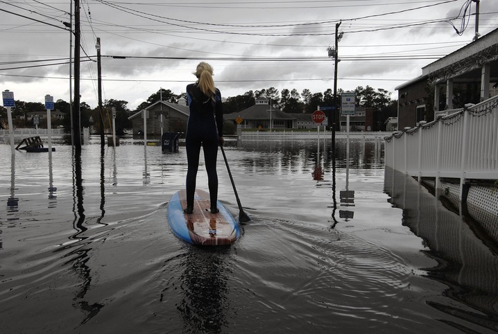 Paddling Through the Flood