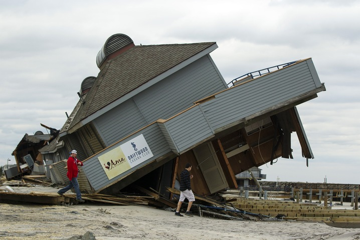 Toppled Beach Club