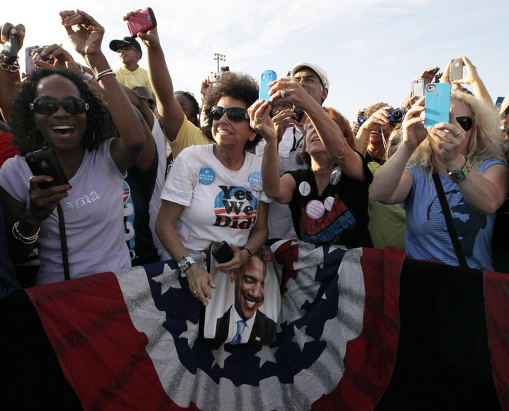Obama Supporters in Florida