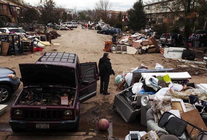 Street of Debris