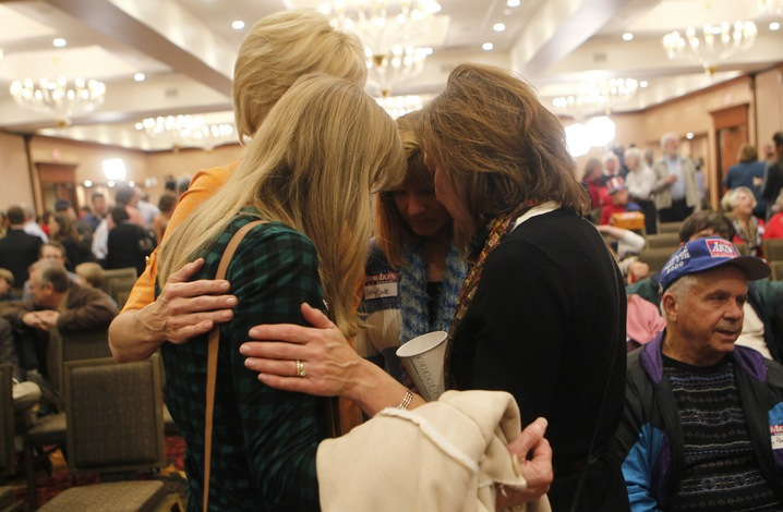 Akin Supporters Grieve