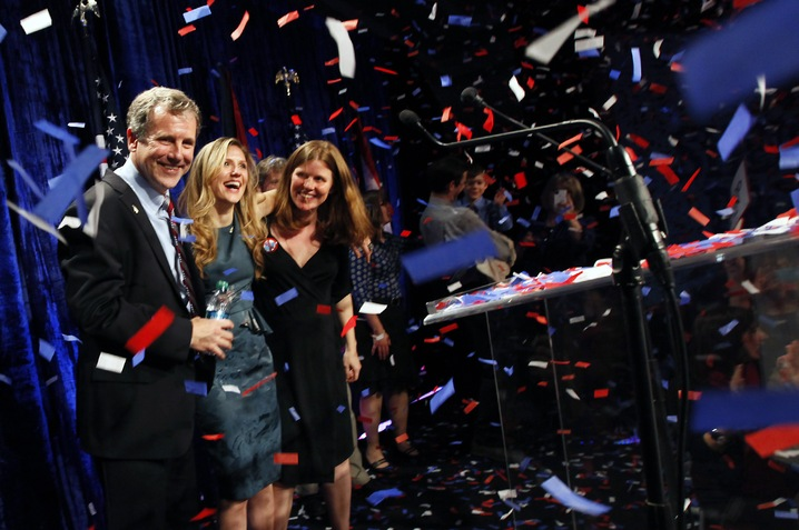 Sherrod Brown Sweeps Ohio