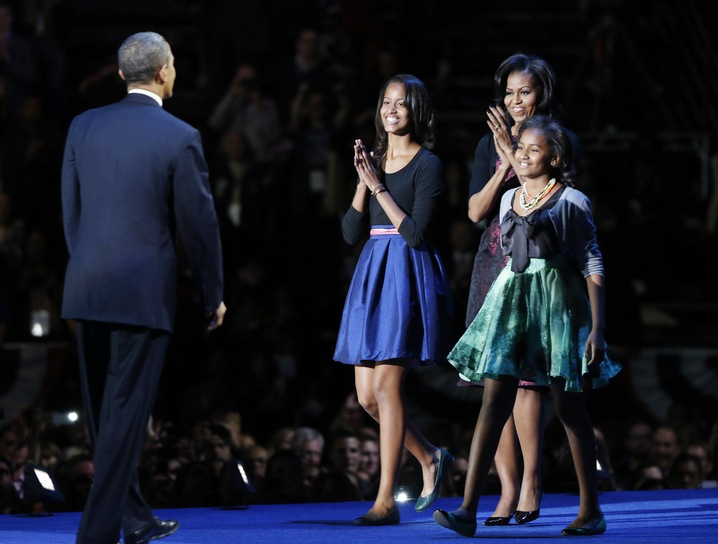 Obama and Family