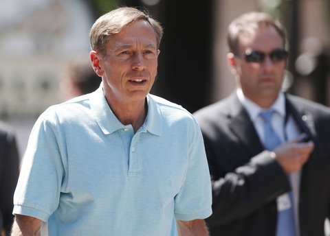 David Petraeus; photo by Jim Urquhart/Reuters