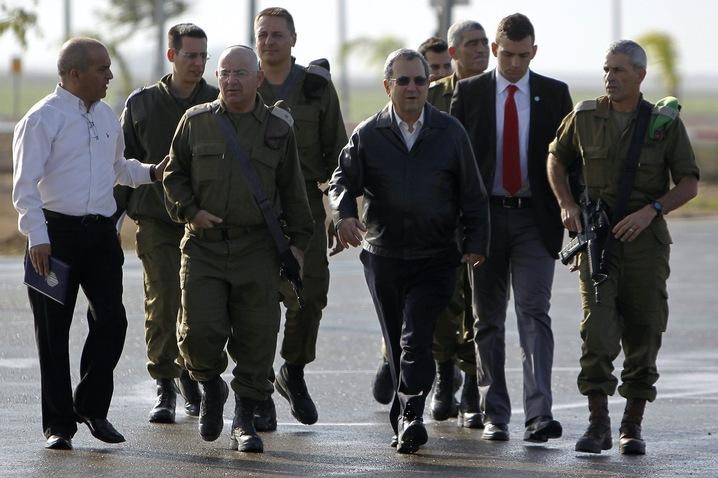 Israeli General Briefs Barak