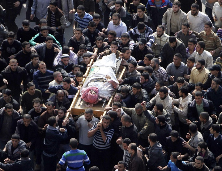 Funeral for Ahmed Al-Jaabari