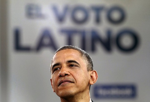 President Obama Courts Latino Vote