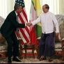 In Further Firming of Relations, Myanmar President Visits White House