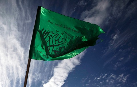 Hamas Flag Greets Released Prisoners