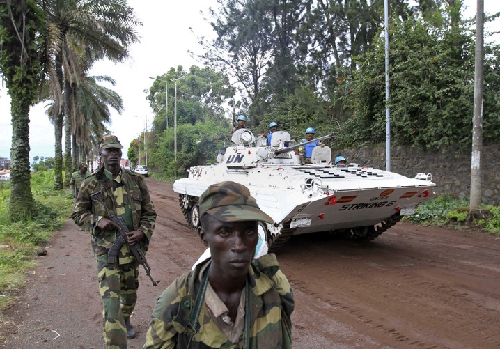 Rebels March into Goma