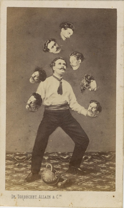 'Man Juggling His Own Head'