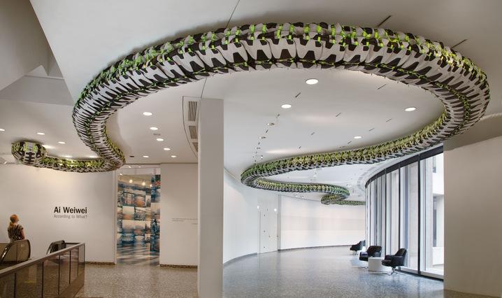 'Snake Ceiling'