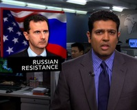 News Wrap: Russia Unlikely to Pressure Syrian President Assad to Resign