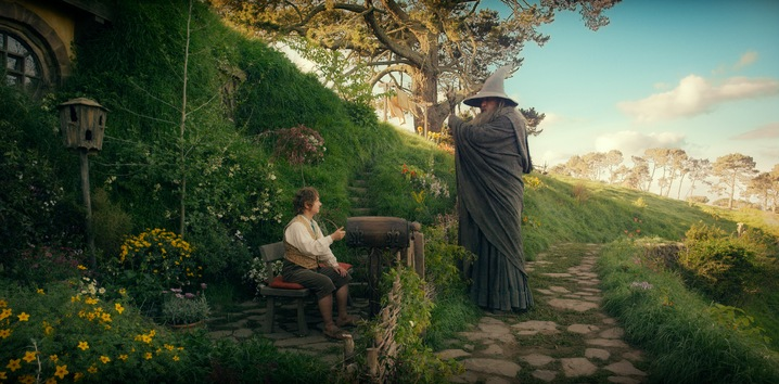 Gandalf Meets Bilbo