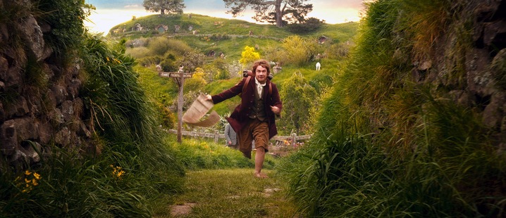 Bilbo and The Shire