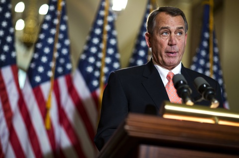 House Speaker John Boehner, R-Ohio; photo by Joshua Roberts/Reuters