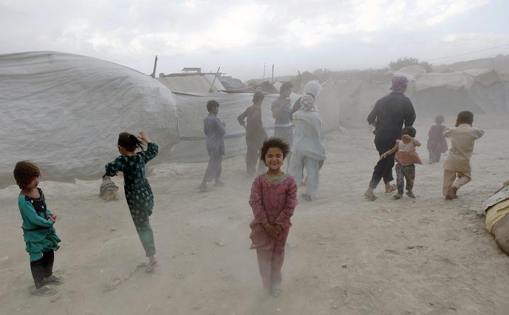 Refugee Camps Mushroom