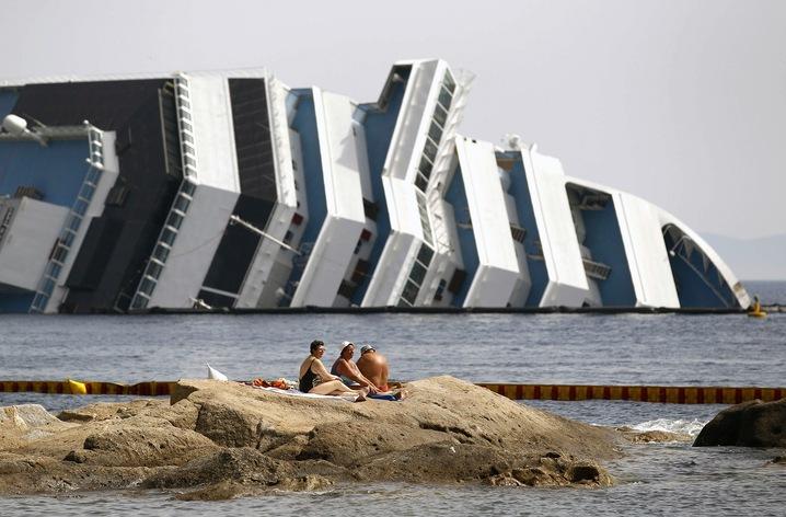 Beached Concordia